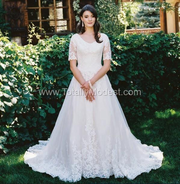 Allure Modest Wedding Gowns: Modest Wedding Dress Coll. 4 Totally Modest WEDDING
