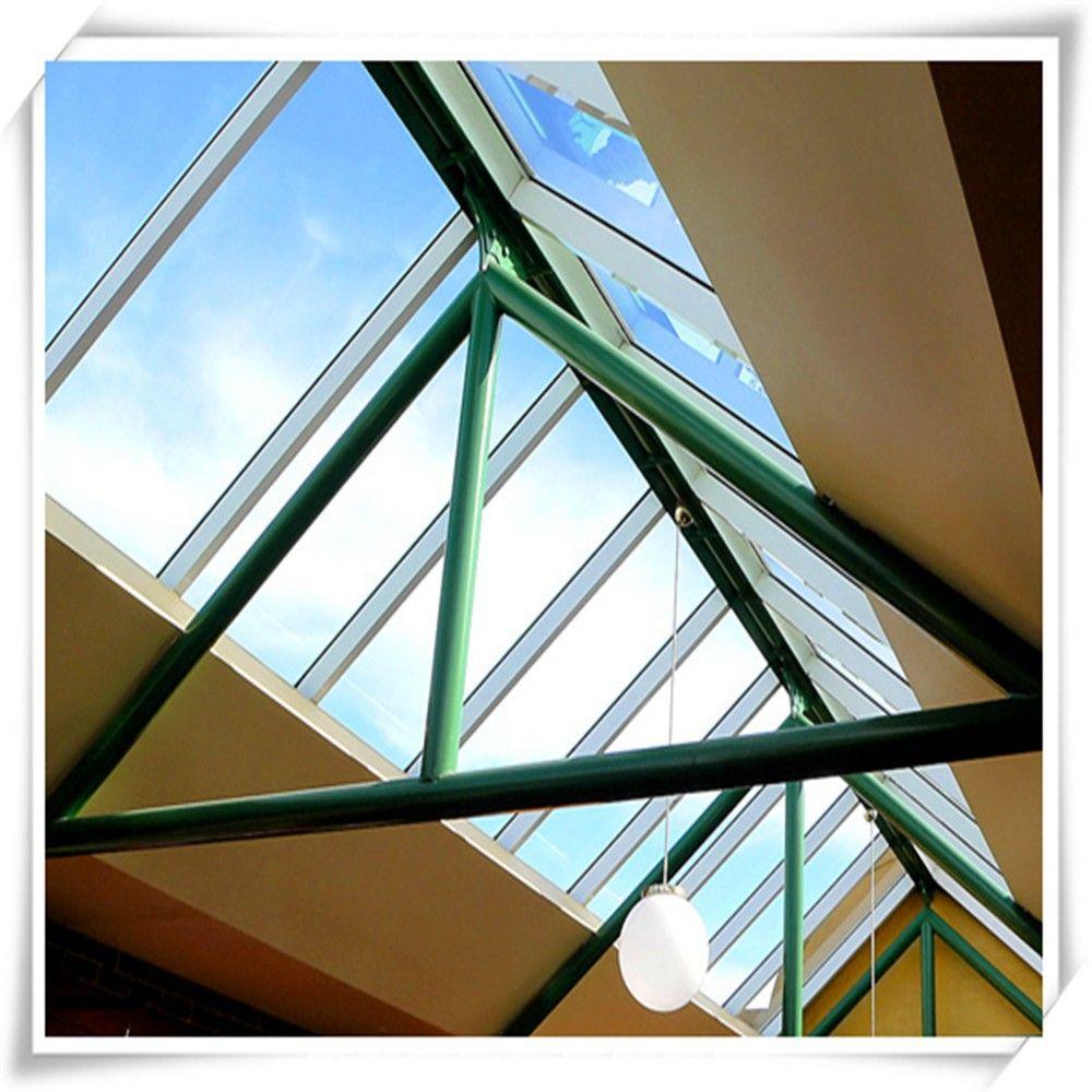 Techo tragaluz ventana fija de aluminio con aislamiento - Aislamiento para techos ...