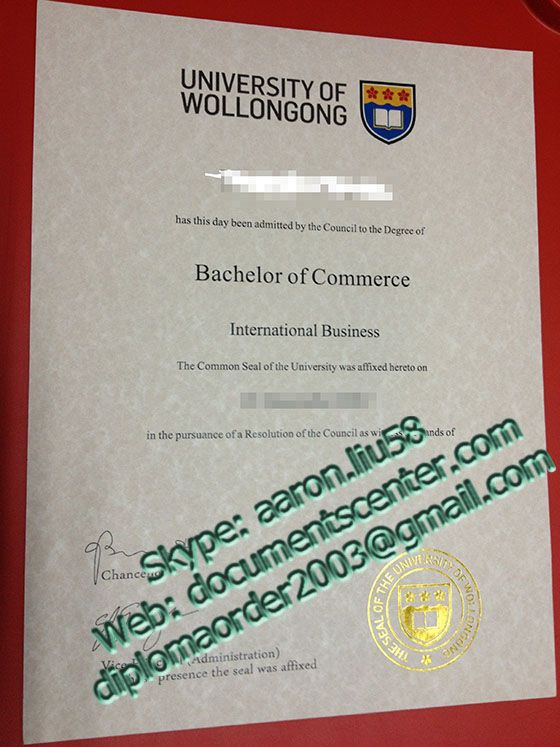 University Of Wollongong Diploma University Of Wollongong Degree