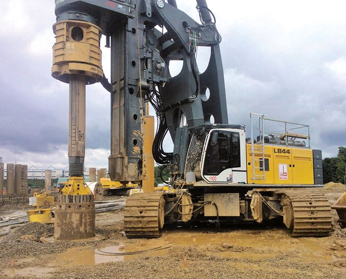 Liebherr   LB 44   ConExpo 2014 Las Vegas   Pinterest   Heavy equipment, Heavy machinery and Tractor