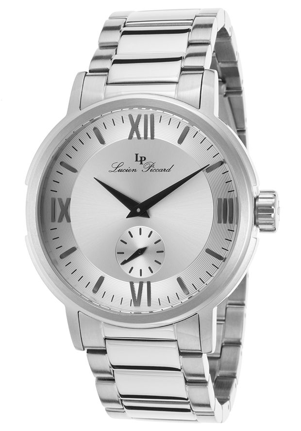 Bremen Stainless Steel Silver-Tone Dial - Lucien Piccard Watch | 85.0% off