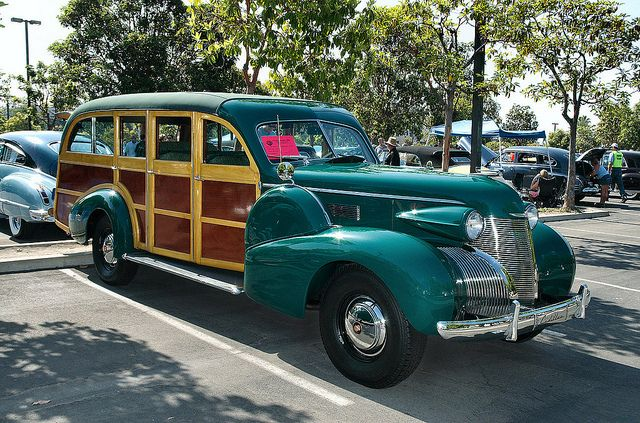 Image result for 1939 Cadillac woody wagon