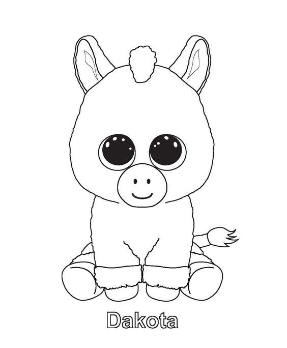 - Beanie Boo Colouring Pages Coloriage Enfant, Coloriage, Dessin Minion