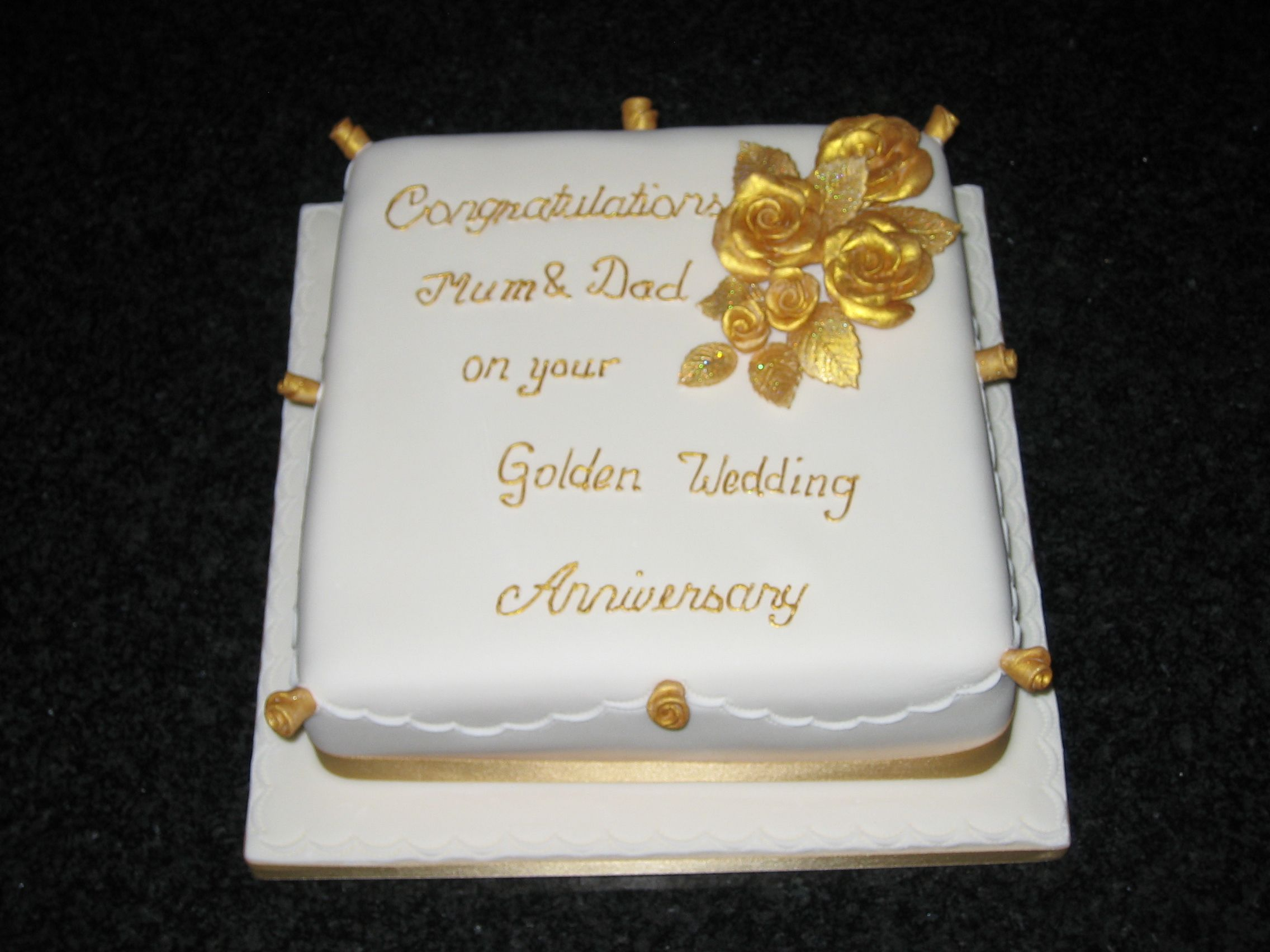 Image Detail For Similar Projects Anniversary Cakes 50th