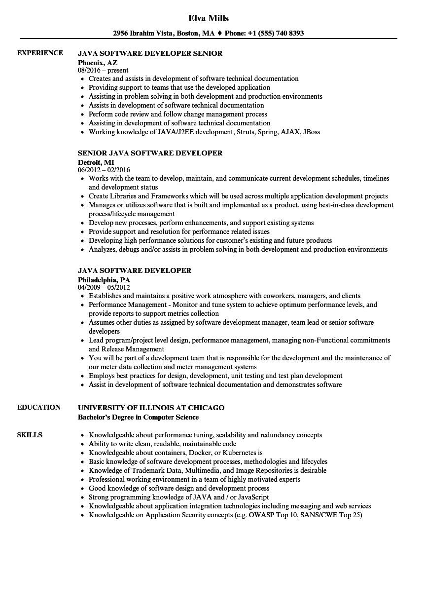 Java Developer Resume Indeed Modern Java Developer With Aws Resume Of 25 Great Java Devel Credit Risk Analysis Architect Resume Sample Job Description Template