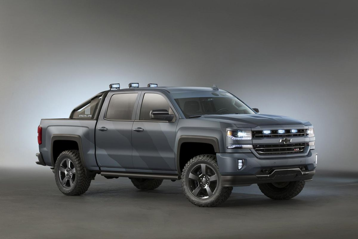 Silverado Special Edition >> Chevrolet Has Showcased Quite A Few Different Special