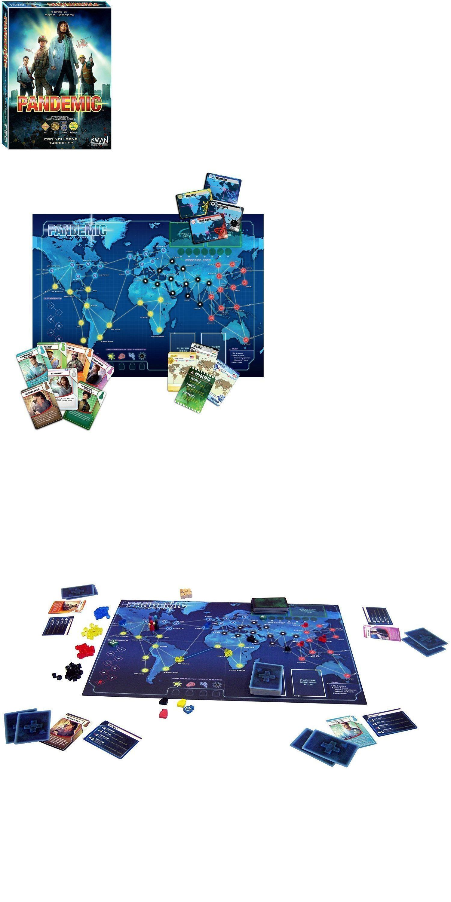 Board and Traditional Games 2550 Pandemic Can You Save