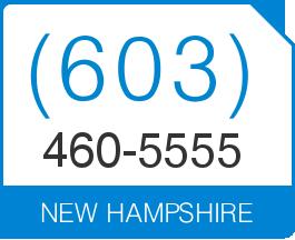 New Hampshire Area Code 603 Local Vanity Telephone Number (603) 460 5555