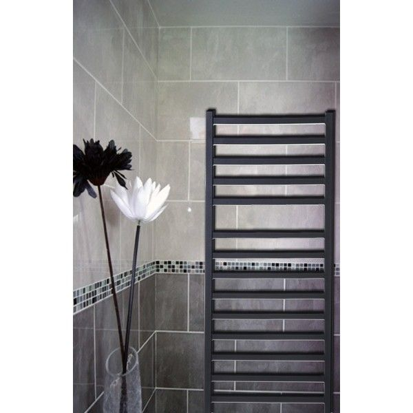 Designer Black Towel Rail