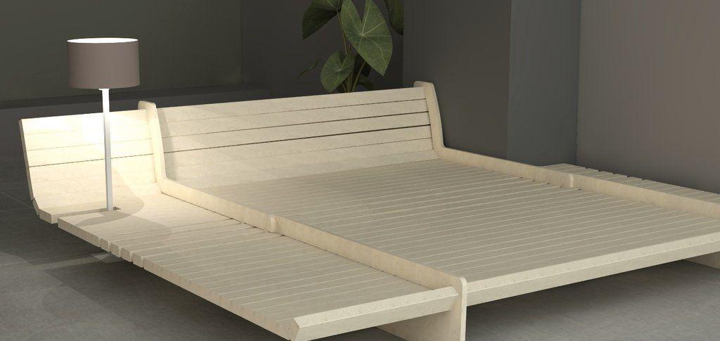 Diy Bed Frame Kit With Images Diy Bed Frame