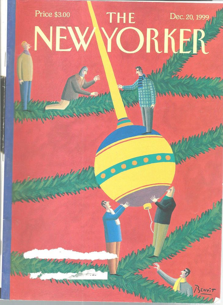 New Yorker Magazine Installation Dec 20 1999  George Saunders Hillary Clinton #doesnotapply
