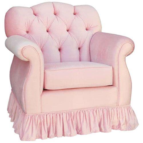 Pink Glider Chair
