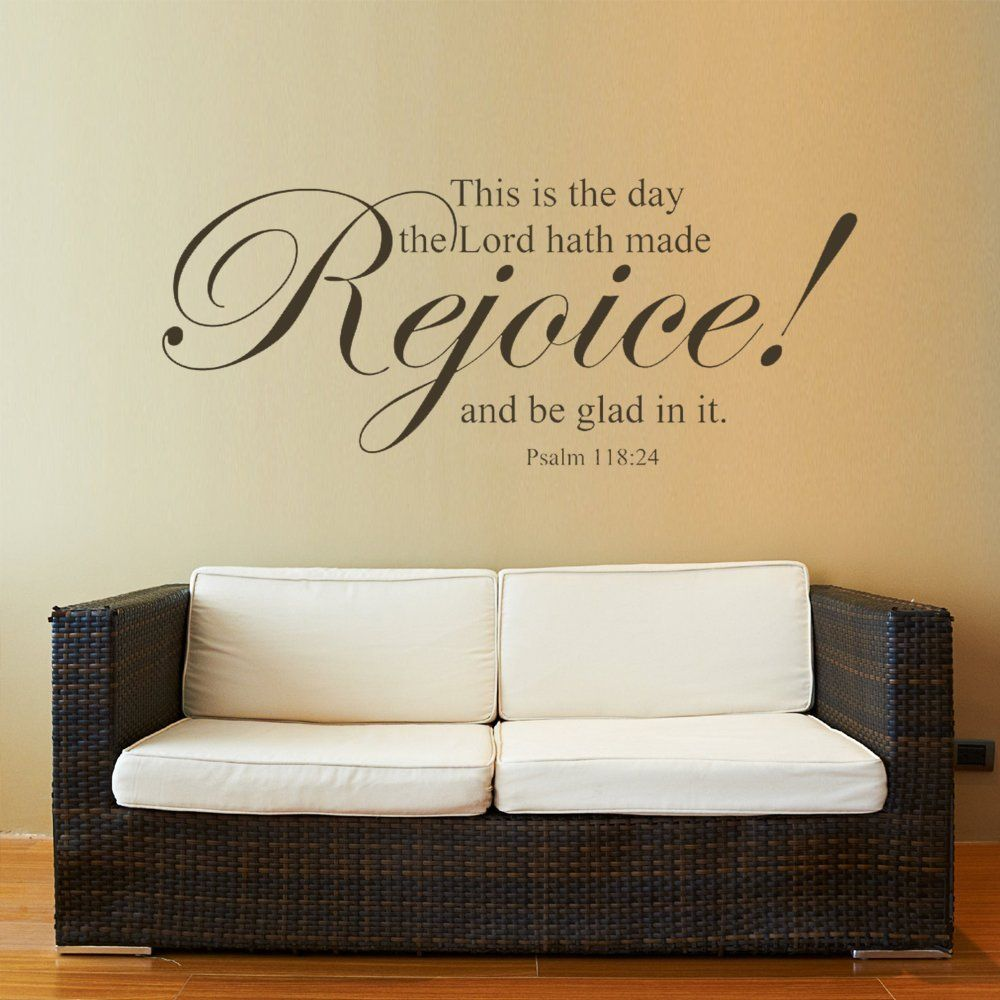 Amazon.com: MairGwall Bible Verse Wall Sticker Quotes Scripture Lord ...