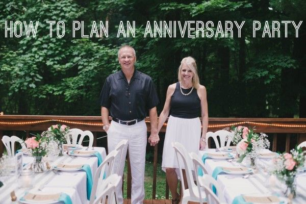How to Plan an Anniversary Party for Your Parents Party