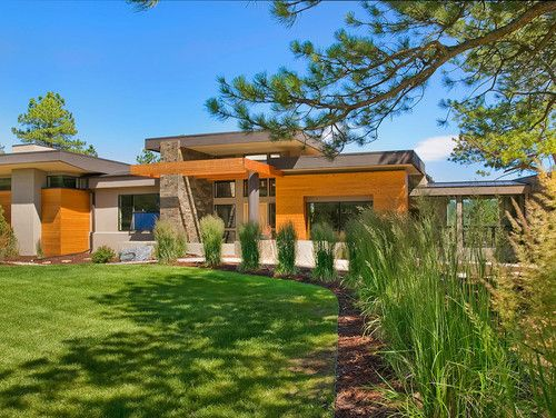 Asian Modern Home in Evergreen Colorado DesignBuild by Entasis