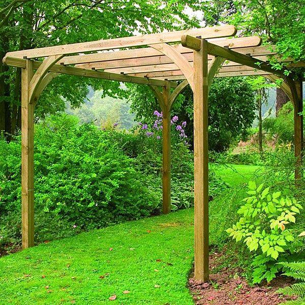Forest Ultima Wooden Pergola Kit 3.6 X 3.6m