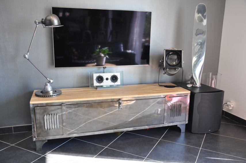 meuble t l vestiaire industriel locker pinterest taquilla bibliotecas y decoraci n. Black Bedroom Furniture Sets. Home Design Ideas