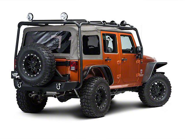jeep wrangler jk 4 door roof rack