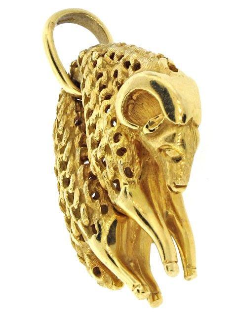 Cartier Golden Fleece Pendant in 18K ITEM #502333
