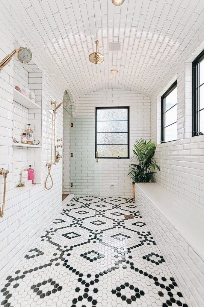 17 Stunning Bathroom Tile Floor Ideas You Wish To Know Earlier In 2020 Bathroom Tile Designs Dream Bathrooms Bathrooms Remodel