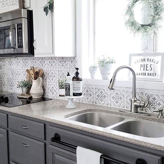25 Modern Kitchen Countertop Ideas 2019 (Fresh Designs for ... on Modern Kitchen Countertop Decor  id=64448