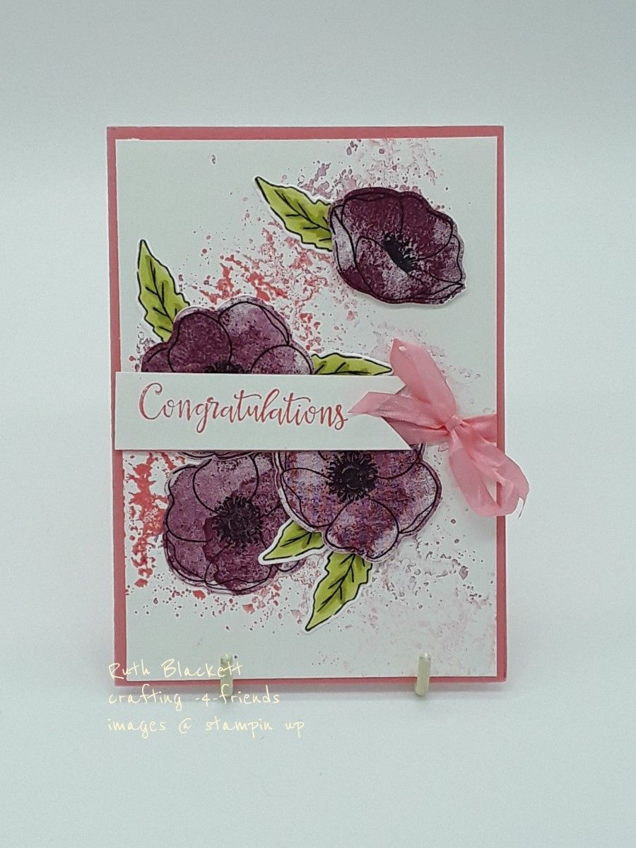 Stampin Up Artisan Design Team Blog Hop In 2020 Poppy Cards Stampin Up Cards Cards Handmade