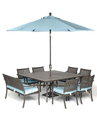 holden outdoor patio furniture 8 piece