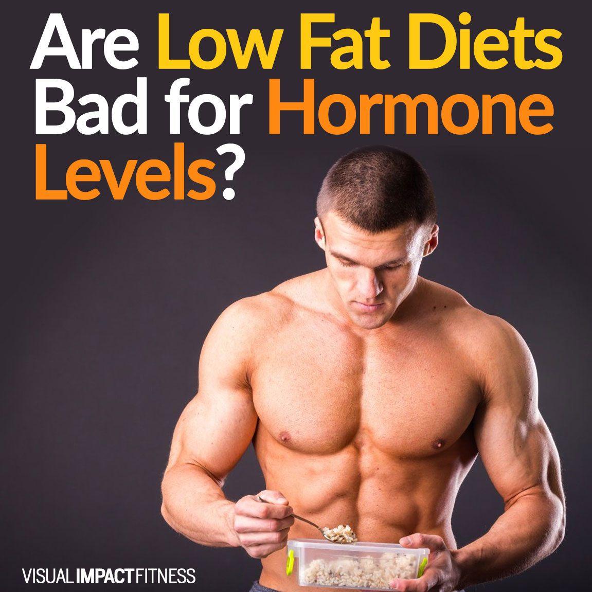 hormones low fat diet