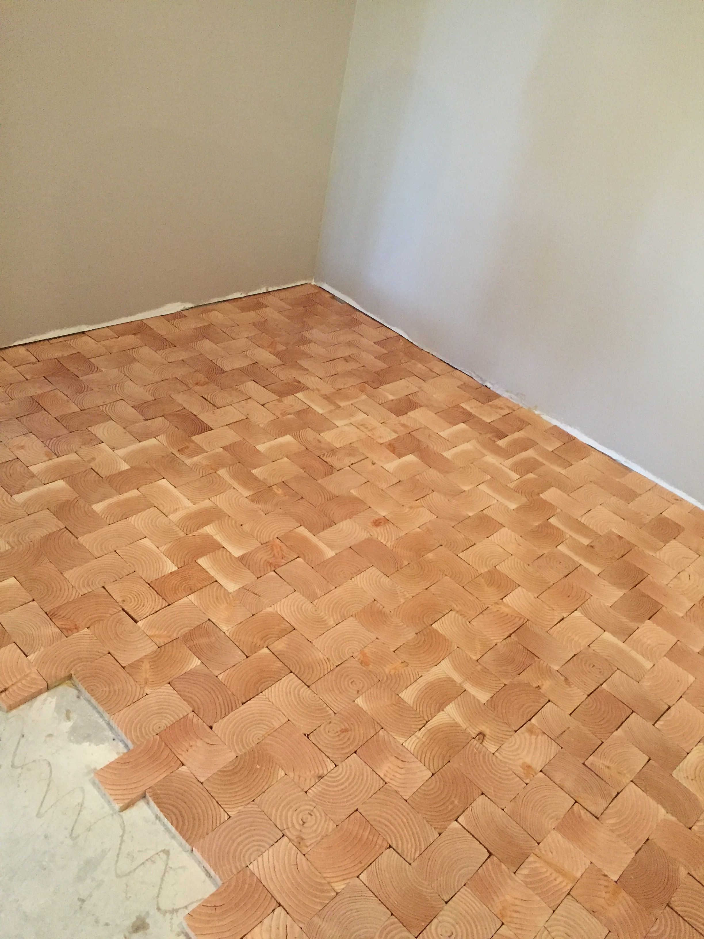End Grain Wood Flooring Installation End Grain Flooring Country