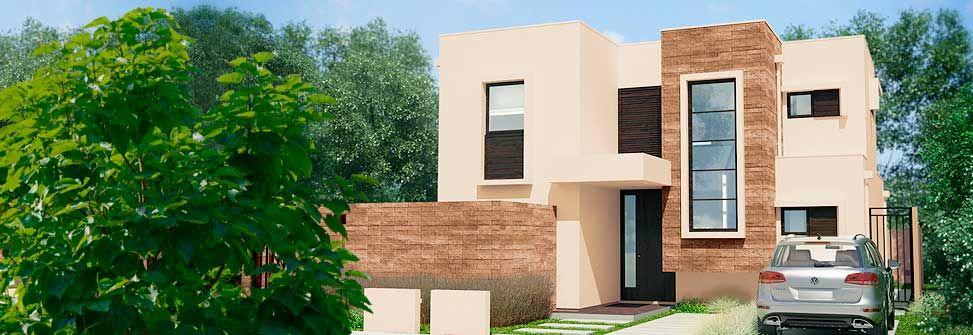 Planos De Casa Estilo Mediterranea De 139m2 Y 2 Pisos Planos De Casas Plano De Casa Moderna Casa Estilo