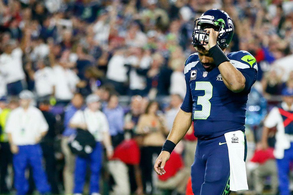 Russell Wilson Photos Photos Super Bowl Xlix New England Patriots V Seattle Seahawks New England Patriots Russell Wilson Seattle Seahawks