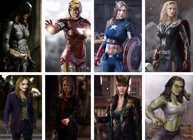 Superhero Gender Swap Google Search Superhero Gender