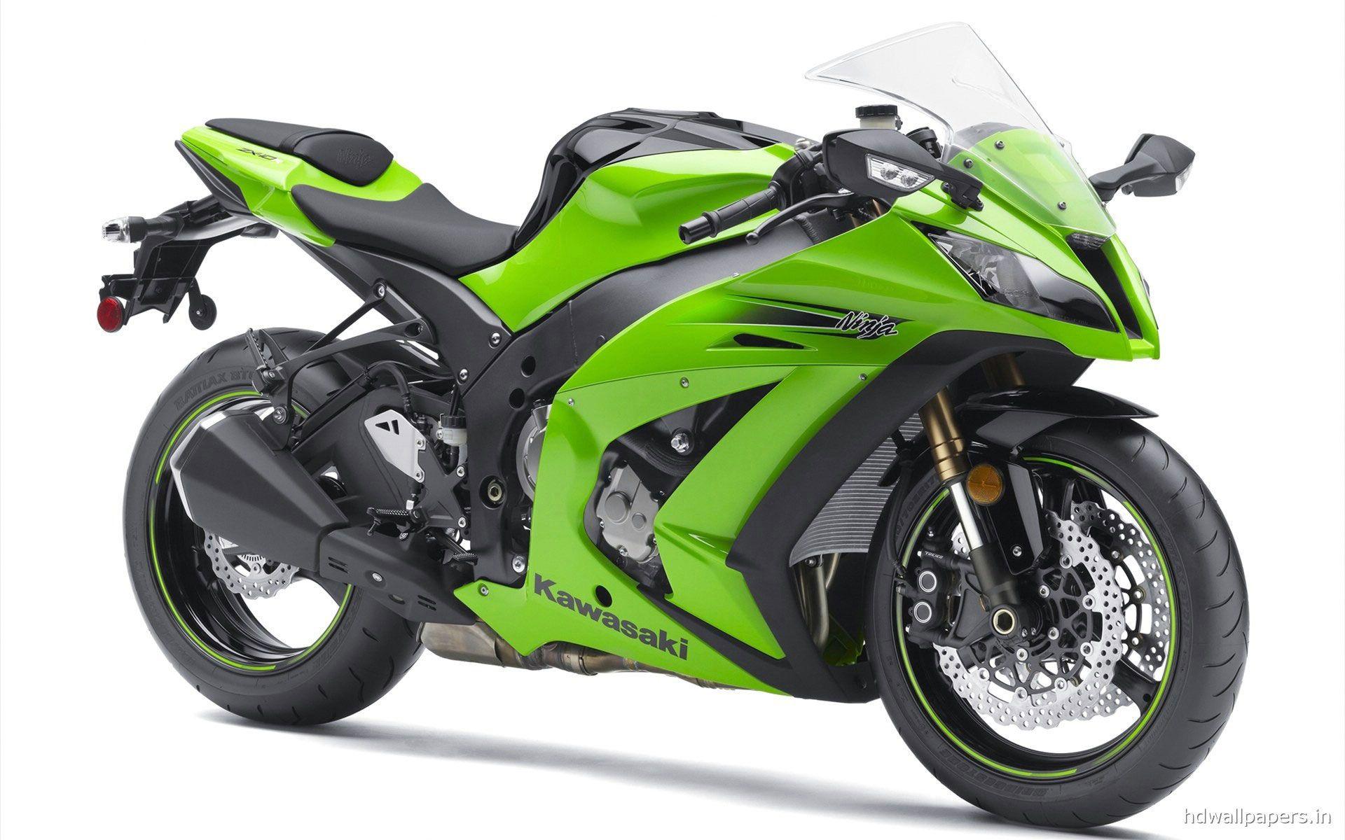 Green Kawasaki Ninja ZXr HD Wallpapers in HD  HD Wallpapers