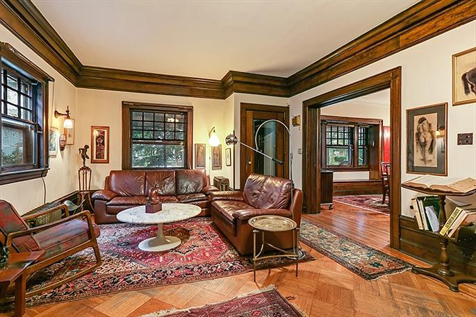 Gorgeous Ditmas Park Craftsman Brings Romance Home for $175M did