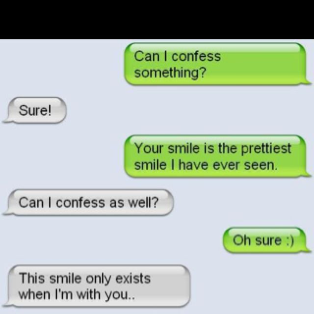 I want this texting conversation