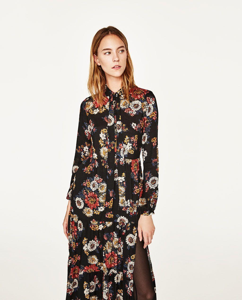 Zara mujer vestidos largos 2019