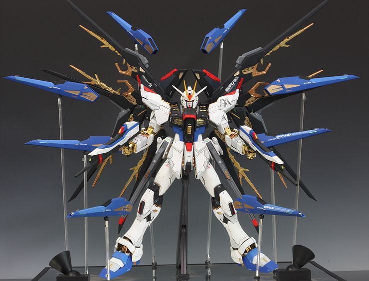 18 Full Burst Strike Freedom Gundam Picture Download
