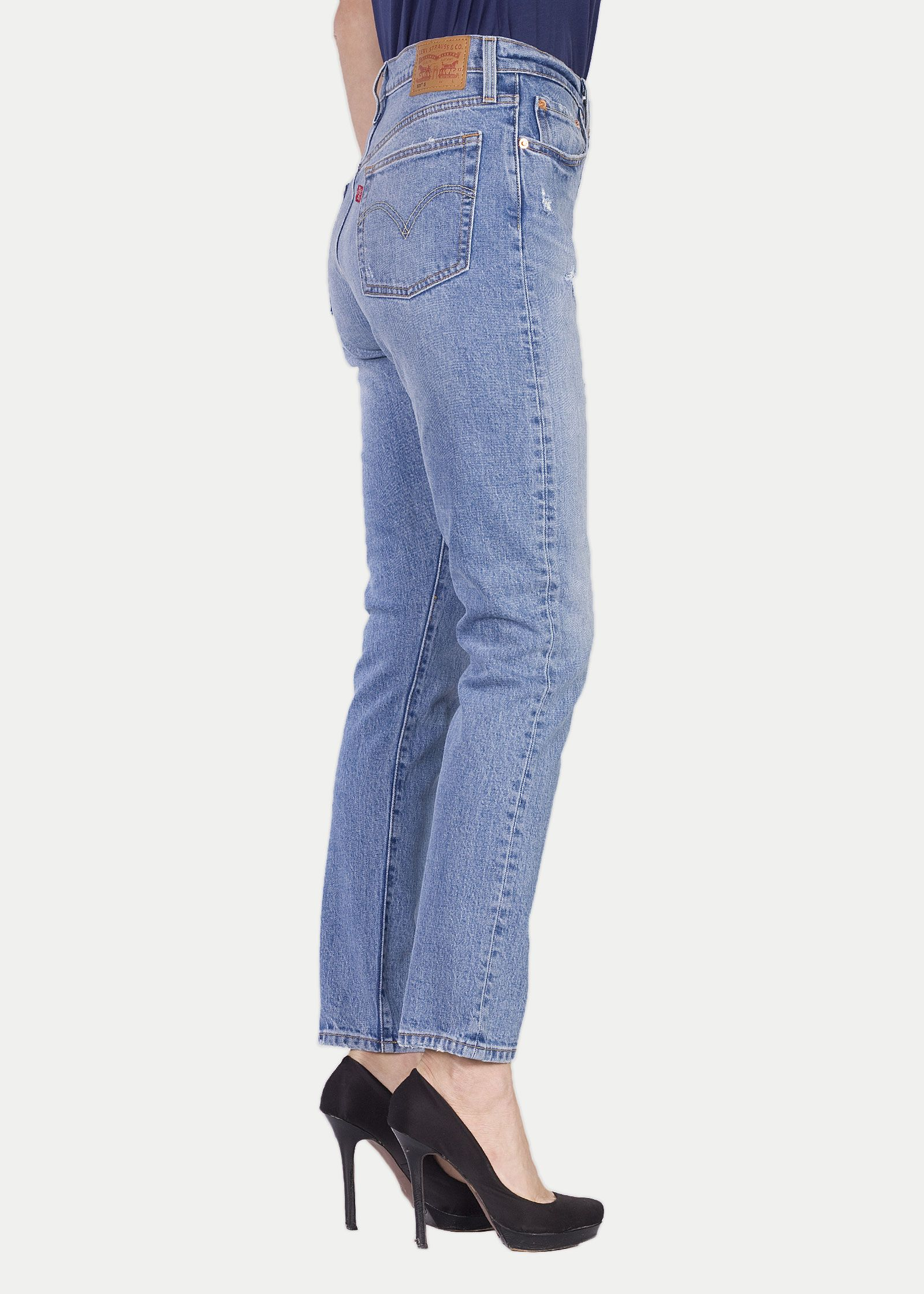 b23b722ccf494 Levi s® 501® Skinny Jeans - Post Modern Blues