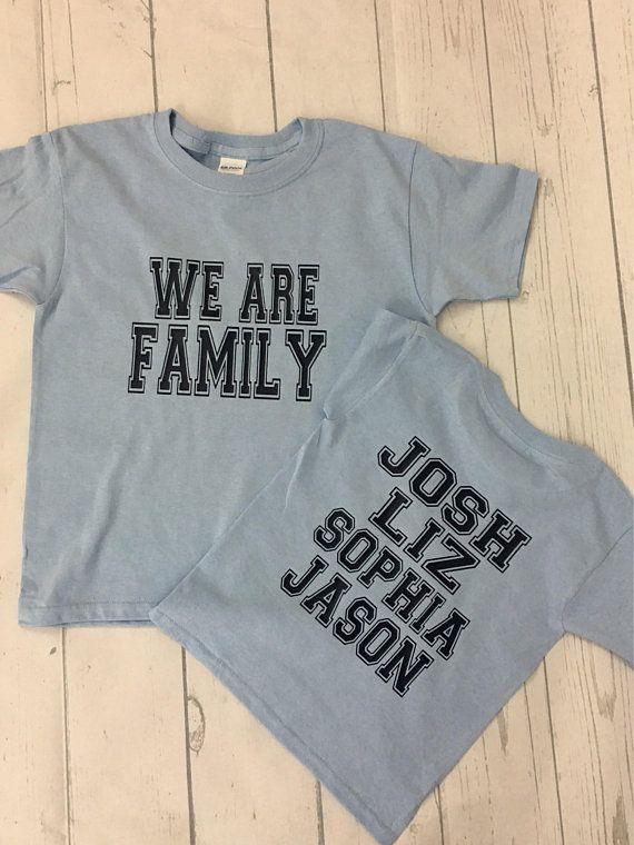 85b8c19e Family shirts - family reunion shirts - adoption shirts - customize own  shirt - personalize family s