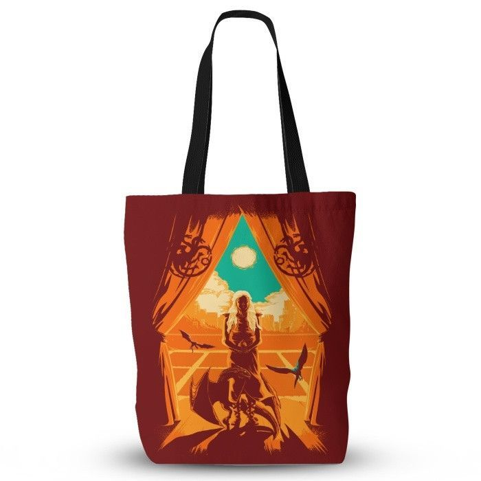Through the Fire - Tote Bag