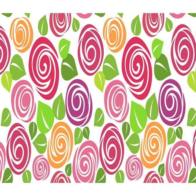3D Flowers Pattern 739