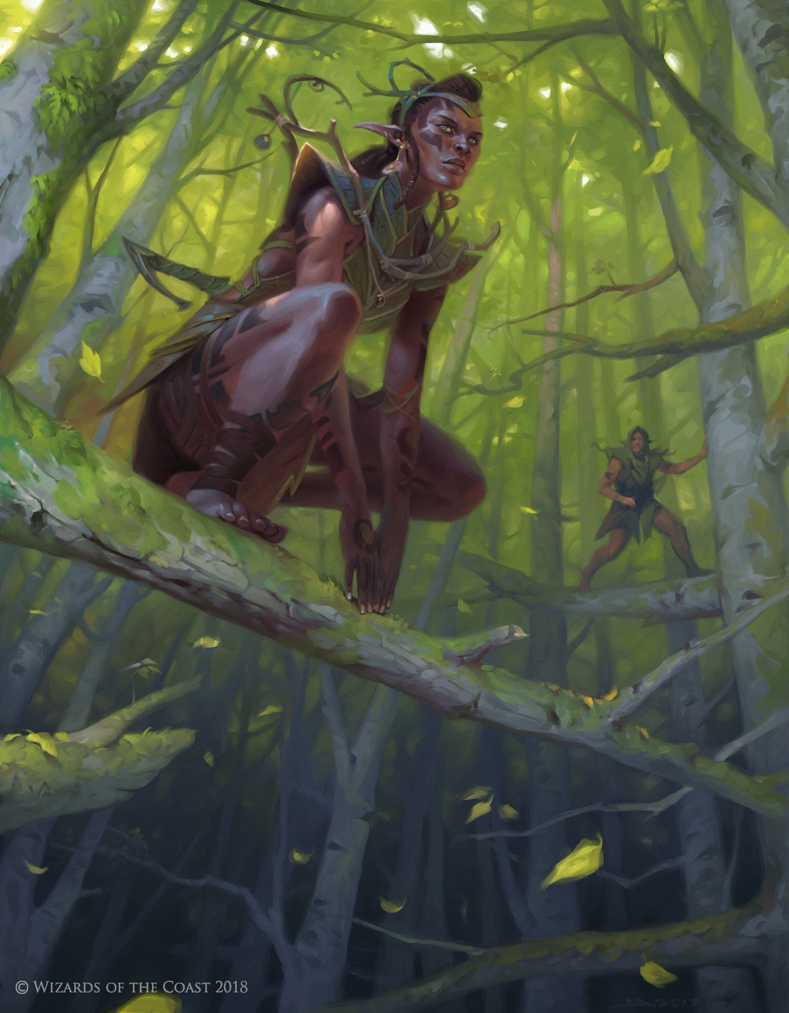 Image result for mtg elf art