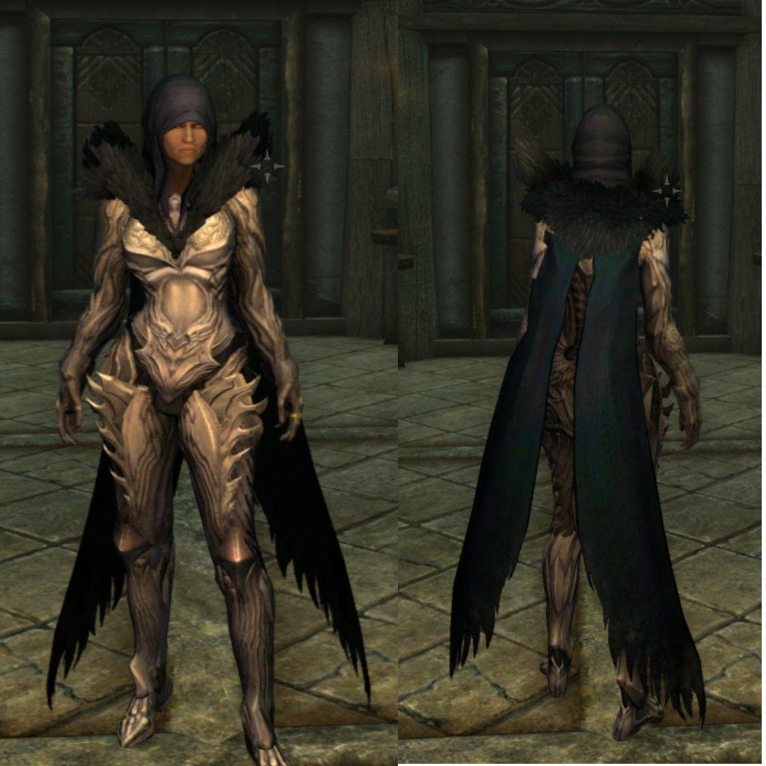 Embla þreytandi Tera Armor útgáfa Modded  | Skyrim with Embla Ysmir