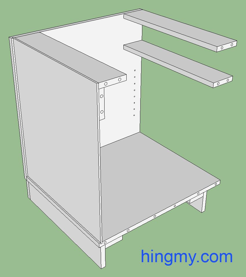 Frameless Cabinet Construction Overview