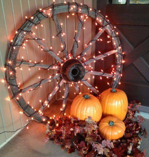Tischdeko Deko Dekorieren Ideen Basteln Dekoideen Herbstliche Thanksgiving Thanksgiving Decorations Outdoor Fall Outdoor Decor Rustic Fall Decor