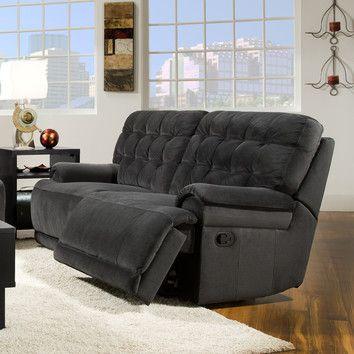 Lee Furniture Lee Furniture Austin Double Reclining Sofa Living
