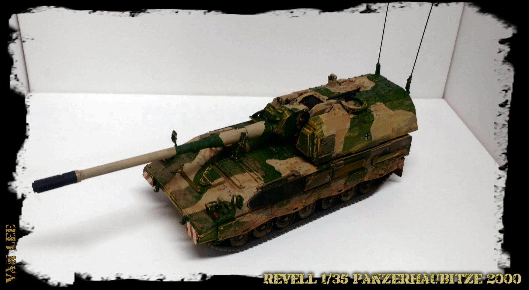 Revell 1/35 Panzerhaubitze 2000 Self propelled howitzer