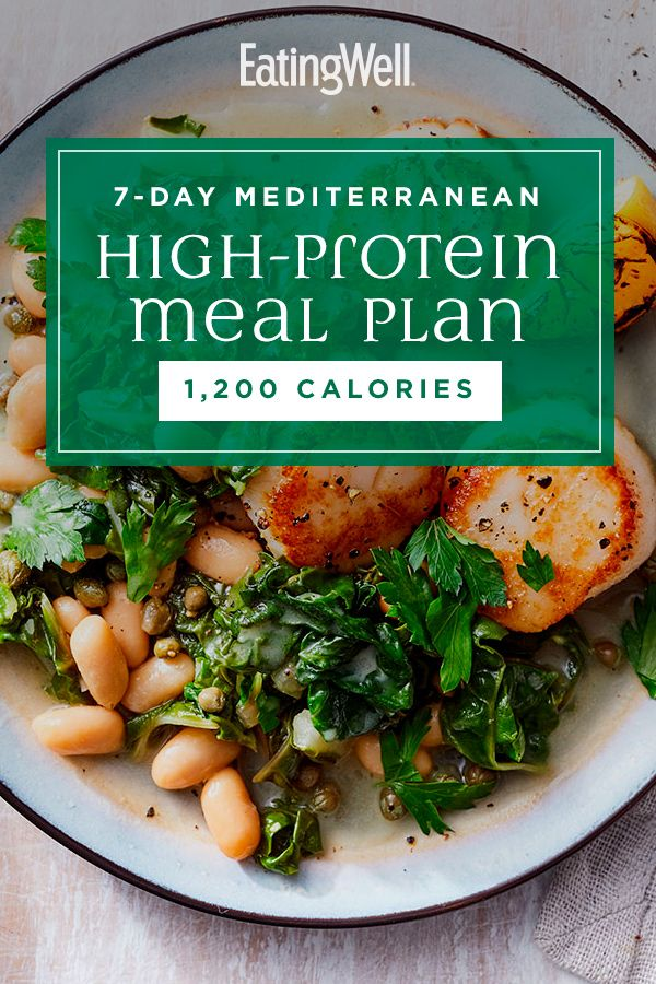 High-Protein Mediterranean Diet Meal Plan