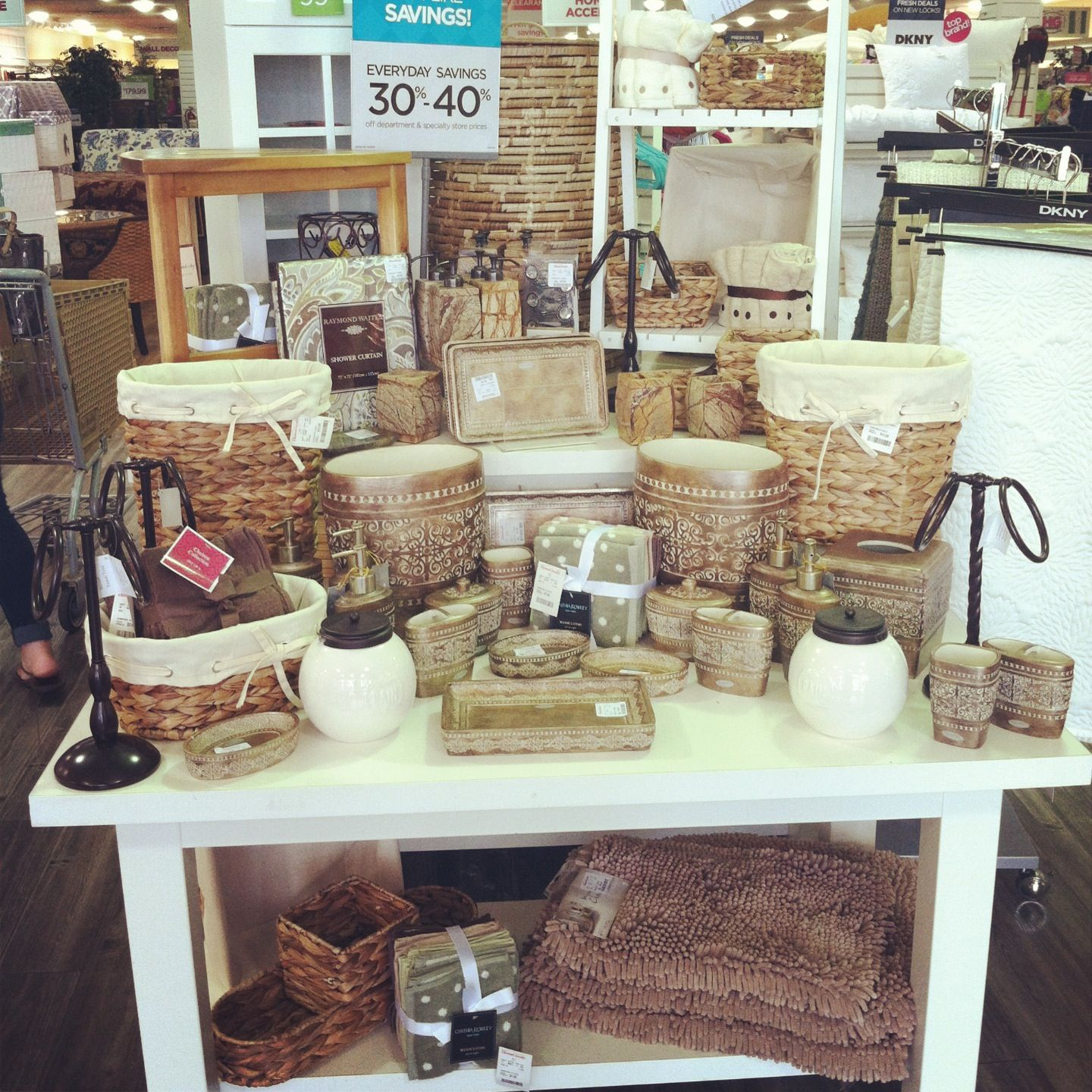 Household Goods Store: HomeGoods: Natural Bath Feature