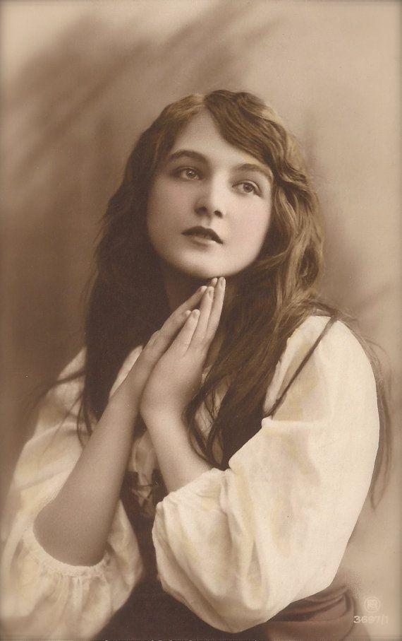 Bohemian Mignon Gypsy Glamour Long Hair Romantic Beauty ...